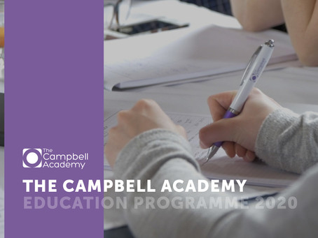The Campbell Academy Education Programme 2020