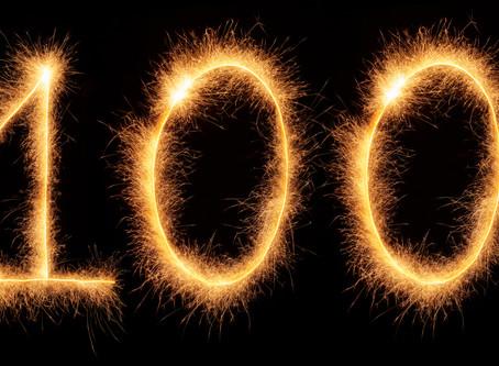 We've helped 100 patients
