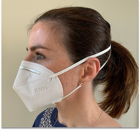 KN95 Head Strap Mask - Box of 20 - GAA