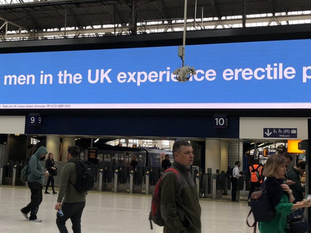 4.3 million men in the UK experience erectile problems
