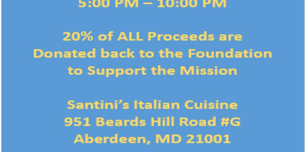 *** APRIL POSTPONED *** MD-2 Santini's Italian Cuisine Take Over April