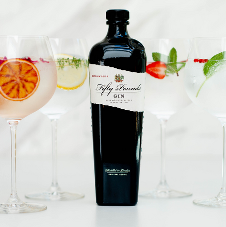 Fifty Pounds Gin | Digital Strategy