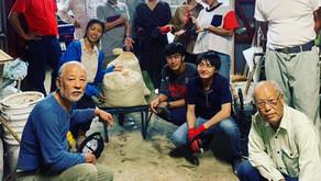 第6回完熟堆肥を使った有機農業の勉強会ーオーガニックフラワーとモミガラ堆肥づくりの実習ー 2019年12月1日
