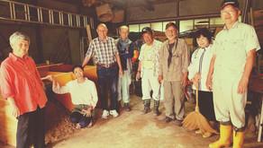 完熟堆肥の勉強会で土ぼかし作りをしました