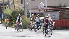 サイクリングモニター実施中