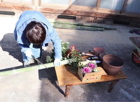 Kadomatsu making workshop