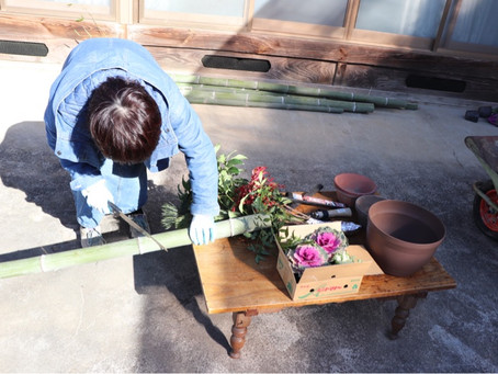 Kadomatsu making workshop
