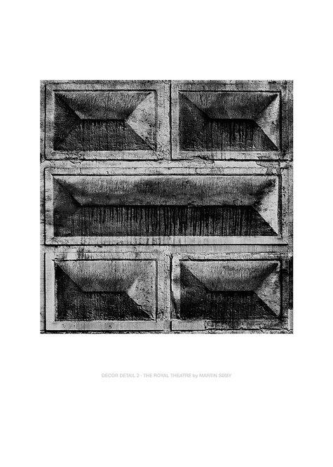 DECOR DETAIL 2 · THE ROYAL THEATRE
