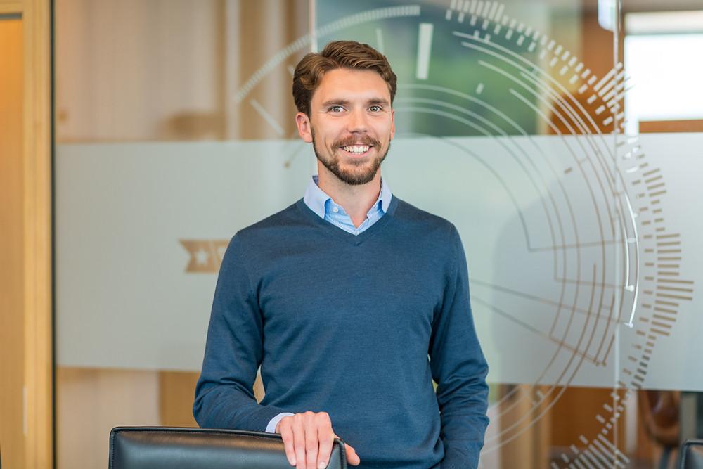 Portrait of Student Petter Sletten