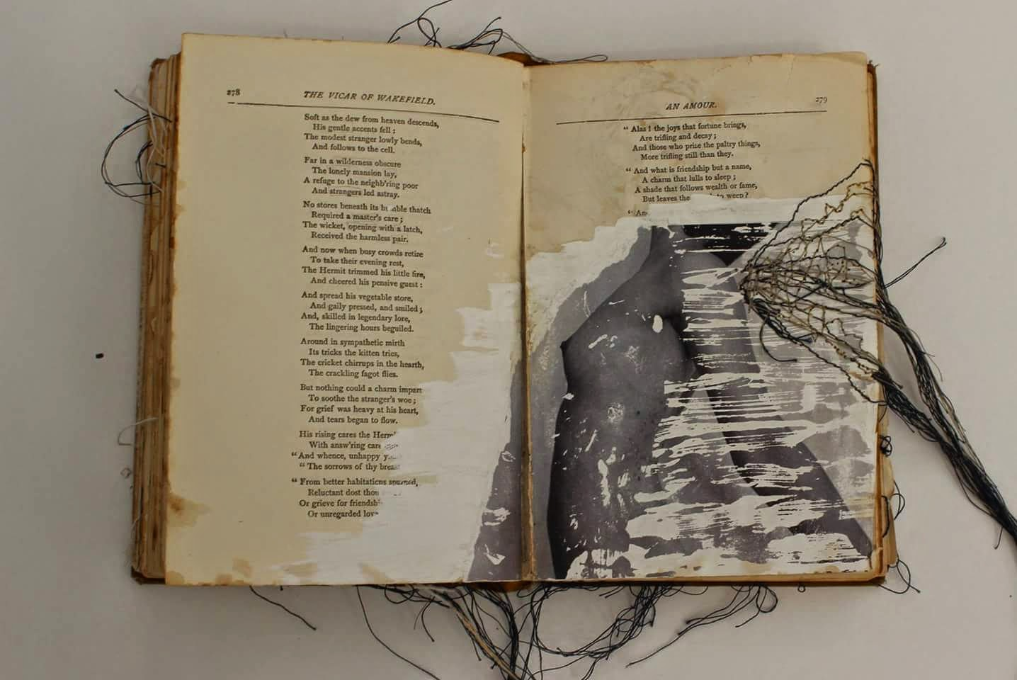 Untitled Altered book #6