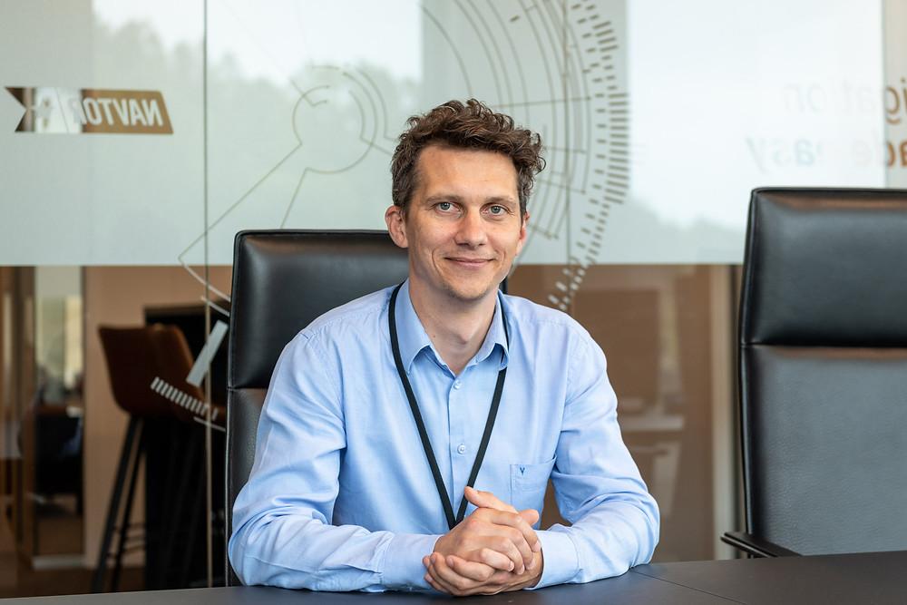 Portrait of Jacek Maszota