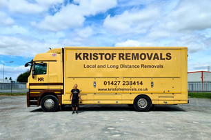 Kristof Removals Lorry Retford