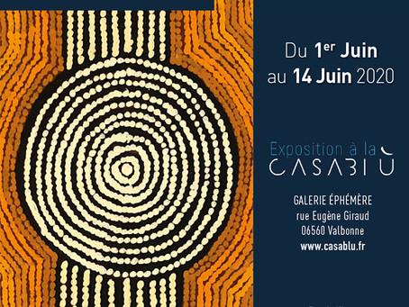 Exposition 'Mémoire Aborigène, Mémoire de la Terre' du 1er au 14  juin 2020
