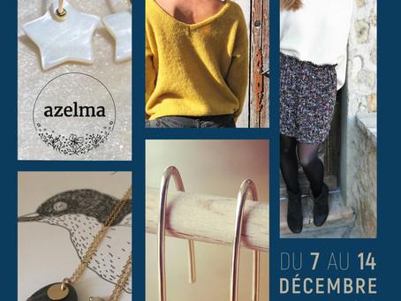 AZELMA bijoux et BELETTE collection à la CasaBlù du 7 au 14 déc 2020