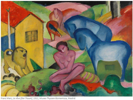 Franz Marc et August Macke – 1909-1914 exposition au Musée de l'Orangerie, Paris