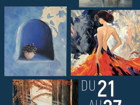 """""""l'atelier des artistes """" de Mouans Sartoux du 21 au 27 mai 2019"""