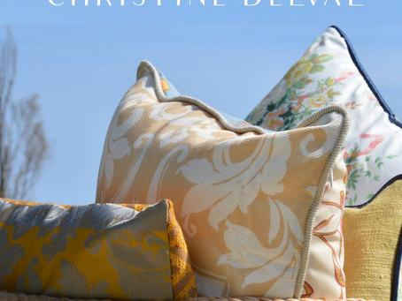 Christine Delval et ses créations textiles