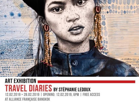 Stephanie Ledoux à Bangkok du 12 février au 28 février 2019