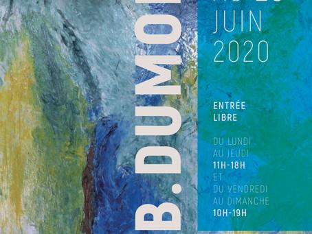 Bernard DUMONT du 22 au 28 juin 2020