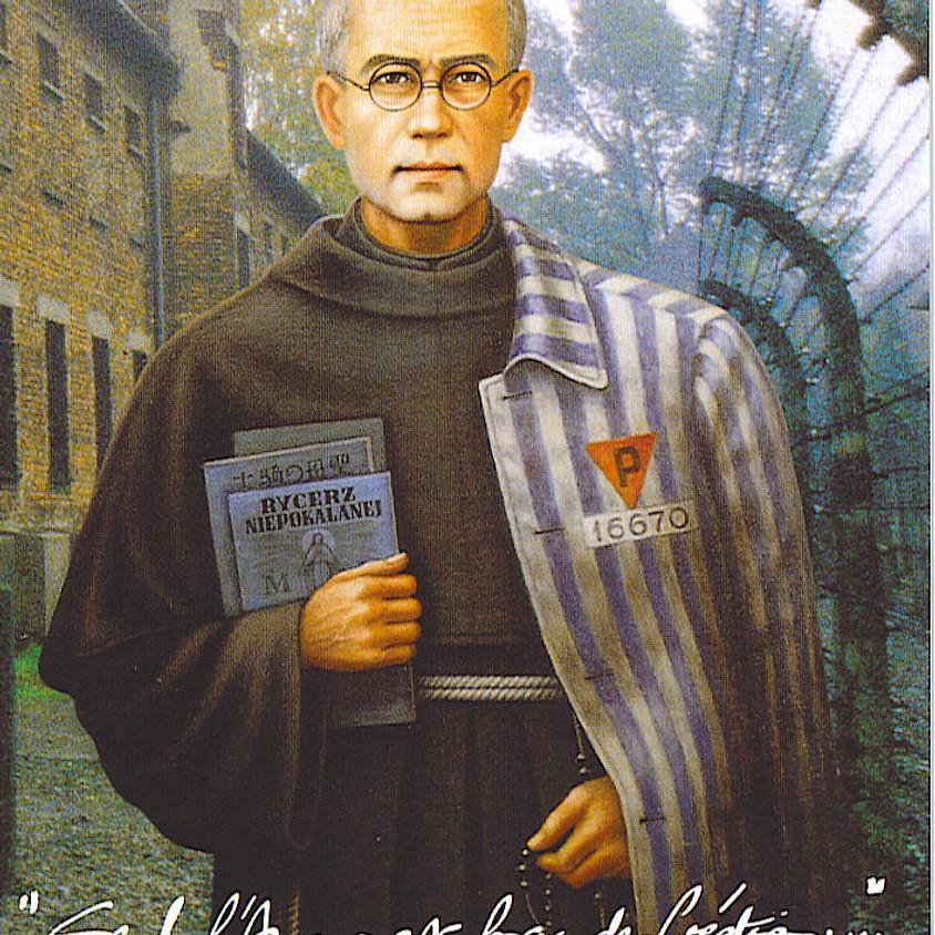 """CONFÉRENCE  """"Saint Maximilien Kolbe & le sens de la Croix, LA FOI À L'ÉCOLE DES SAINTS"""""""