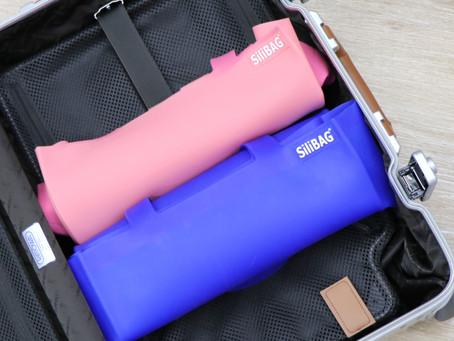 旅行に便利・簡単〜〜折り畳めるsilibag