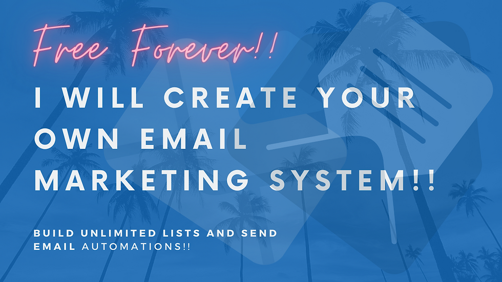 Order Your Own Email Marketing System