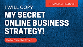 Copy my secret online business strategy.