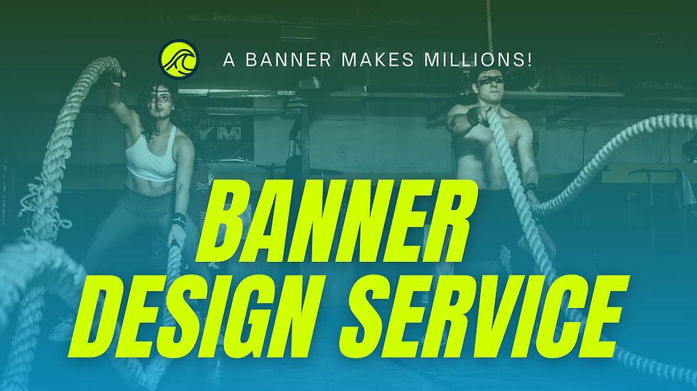 Banner Design Service !!