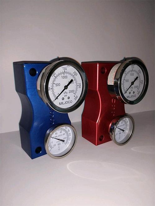 Supply Pressure and Temperature Blocks