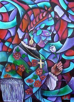 León España, traje regional de león, arte en la pared, cuadros modernos