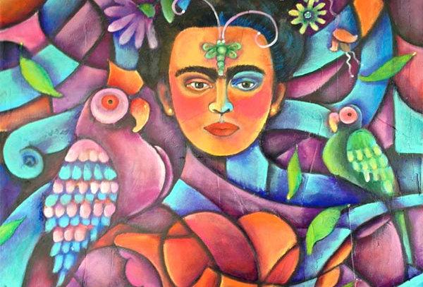 Los loros y Frida/The parrots and Frida