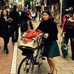 Jiyūgaoka Bicyclist