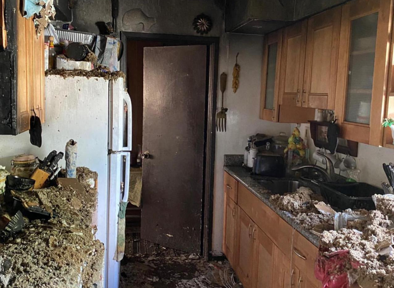 KITCHEN RENOVATION AFTER FIRE