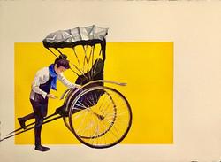 "Call the rickshaw boy - 22""x30"""