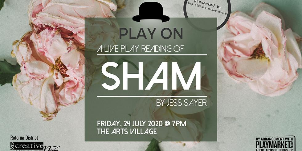 PLAY ON: Sham by Jess Sayer