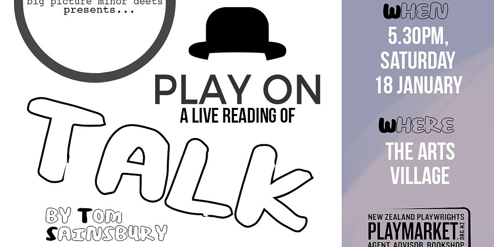 PLAY ON: Talk by Thomas Sainsbury