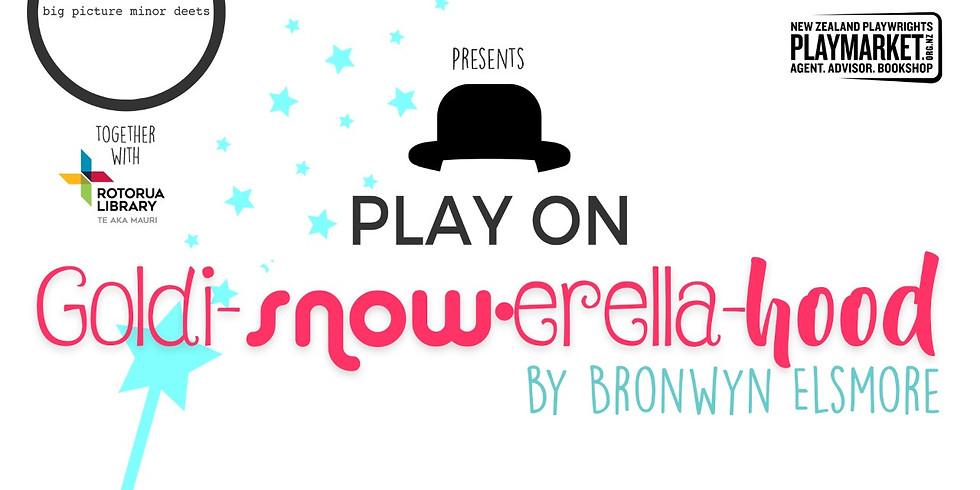 PLAY ON: Goldi-snow-erella-hood by Bronwyn Elsmore