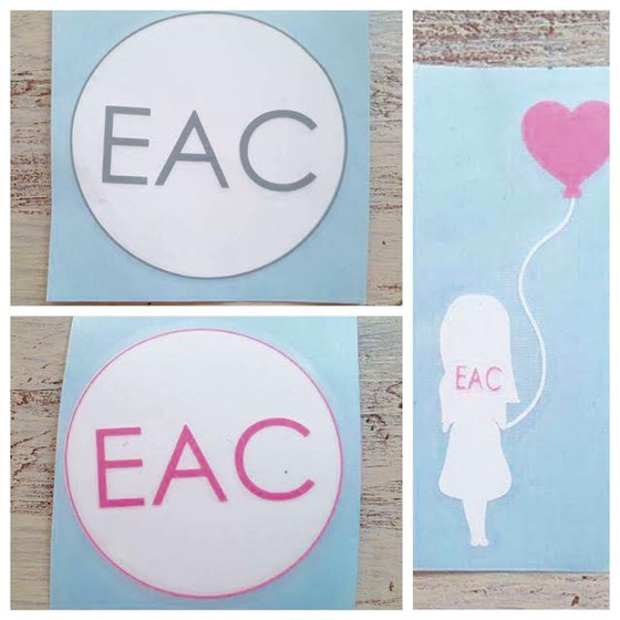 EAC Car Decals