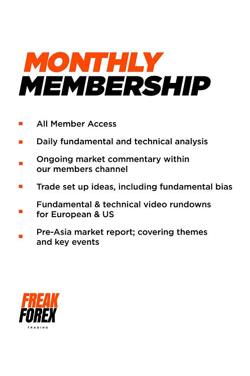 Monthly Membership