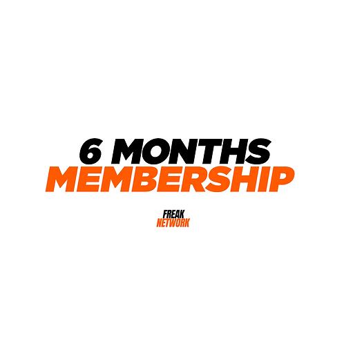 6 Months Membership