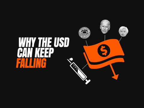 Why the USD Can Keep Falling