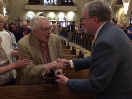 Bob Chambers Receives 2018 Cecelia Roy Kenny Award
