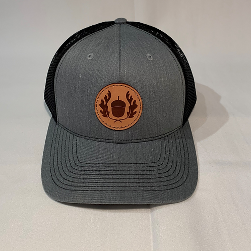 Leather Patch Snap Back