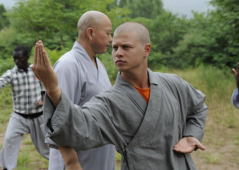 Ben Jacoby becoming a monk