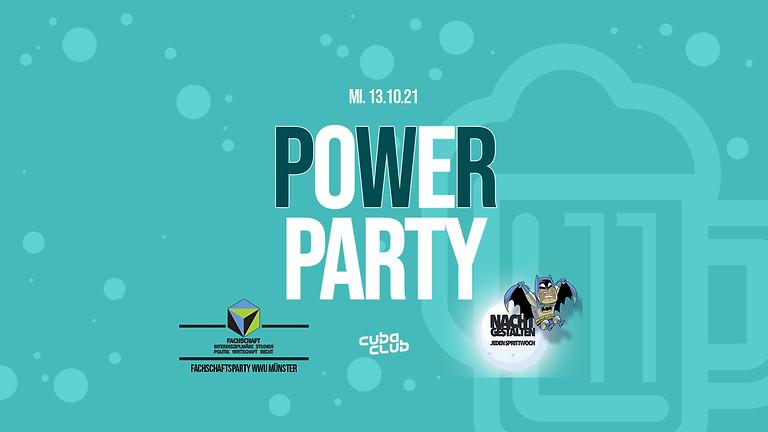 POWER Party x Nachtgestalten