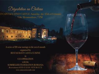 Viile Metamorfosis, o poveste de familie Aroma Munteniei, pe 25 februarie, la Castelul Cantacuzino