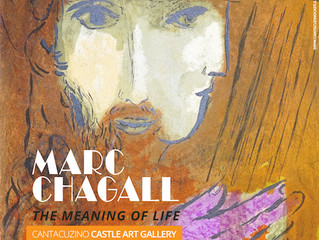 """""""Odiseea"""" și """"Ilustrații pentru Biblie"""", printre litografiile de Marc Chagall, e"""