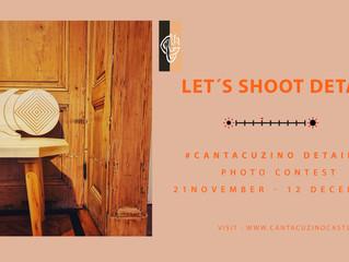 #CantacuzinoDetails - concursul de fotografie care îți poate aduce un weekend la Castel