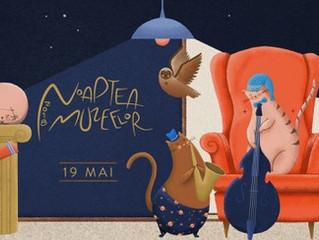 """NOAPTEA MUZEELOR - Preview """"100 de ani Romania"""""""