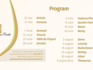 Dacă e Vineri, e degustare de vinuri  / Friday's Wine Tasting 24th May - 13th September